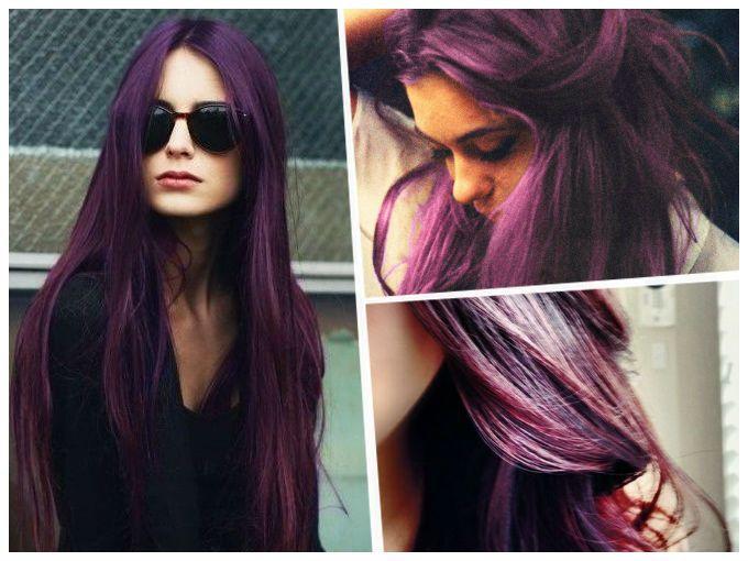 El cabello morado puede ser muy divertido y fácil de probar, principalmente porque algunos tonos