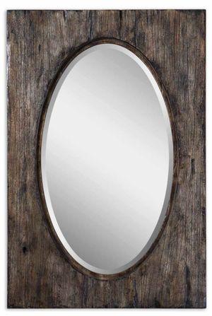 rustic oval mirror at www.darbyroad.com