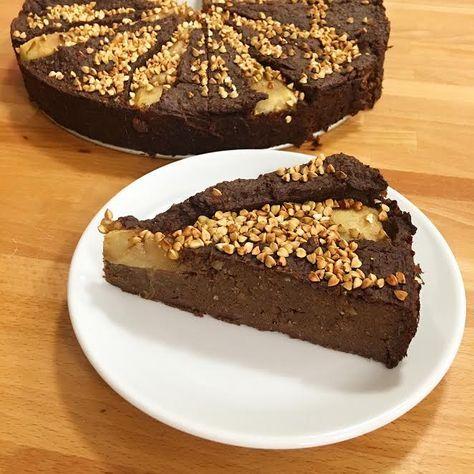 wegańskie brownie z kaszy gryczanej