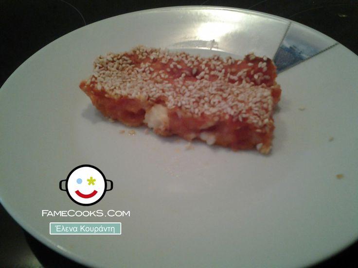 Συνταγή: Καρπουζόπιτα γεμιστή με φέτα! Απο την κουζίνα του χρήστη Έλενα Κουράντη στο #famecooks