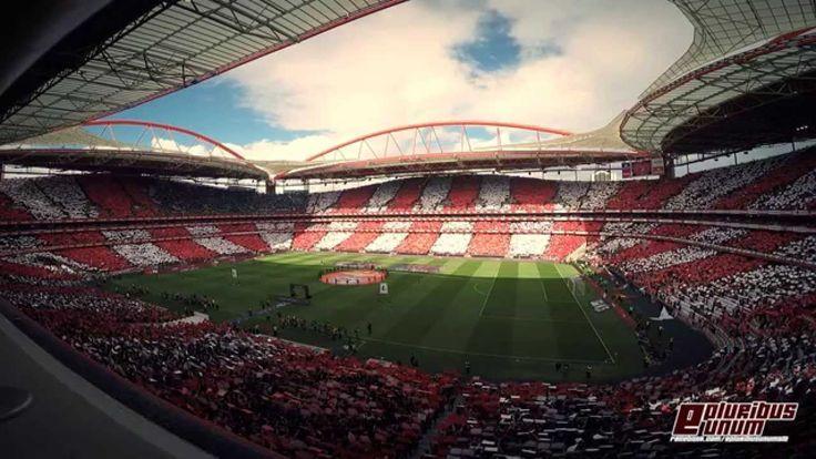 Brutal Coreografia e Hino! Benfica - Porto 2014/2015