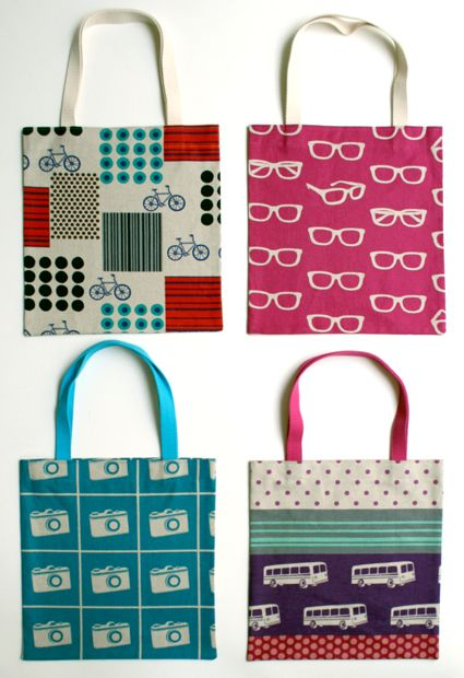 Cute little tote bags...