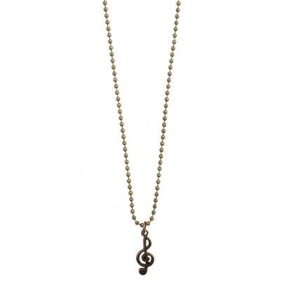 Musical Necklace Bronze - G Clef 4 from Pentatonic Music - Rp 38.000