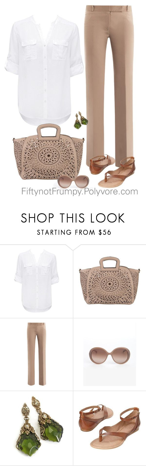 """""""Bohemian Sunday"""" by fiftynotfrumpy ❤ liked on Polyvore featuring Forever New, Melie Bianco, Freda, Marc by Marc Jacobs and Corso Como"""
