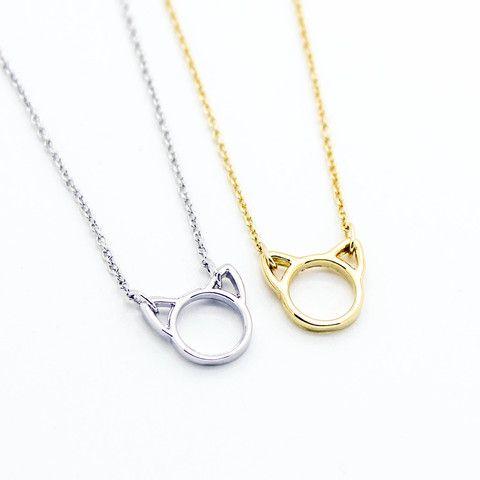 Kitty cat necklace – Imsmistyle.