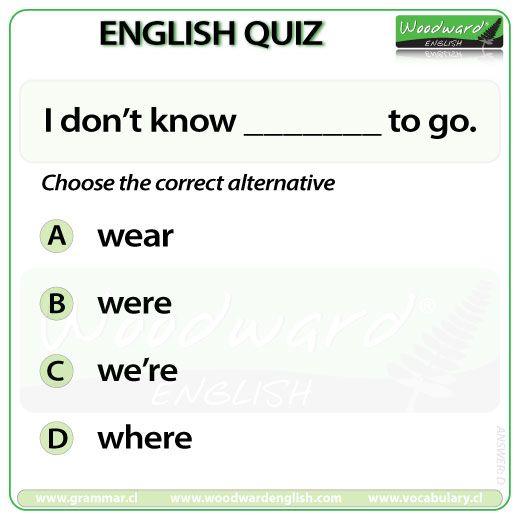 Woodward English Quiz 53 #ESL