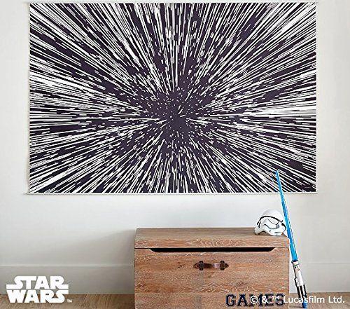 Star Wars Hyperdrive Mural ~ Geeky Home Decor! http://amzn.to/2gj6qIB