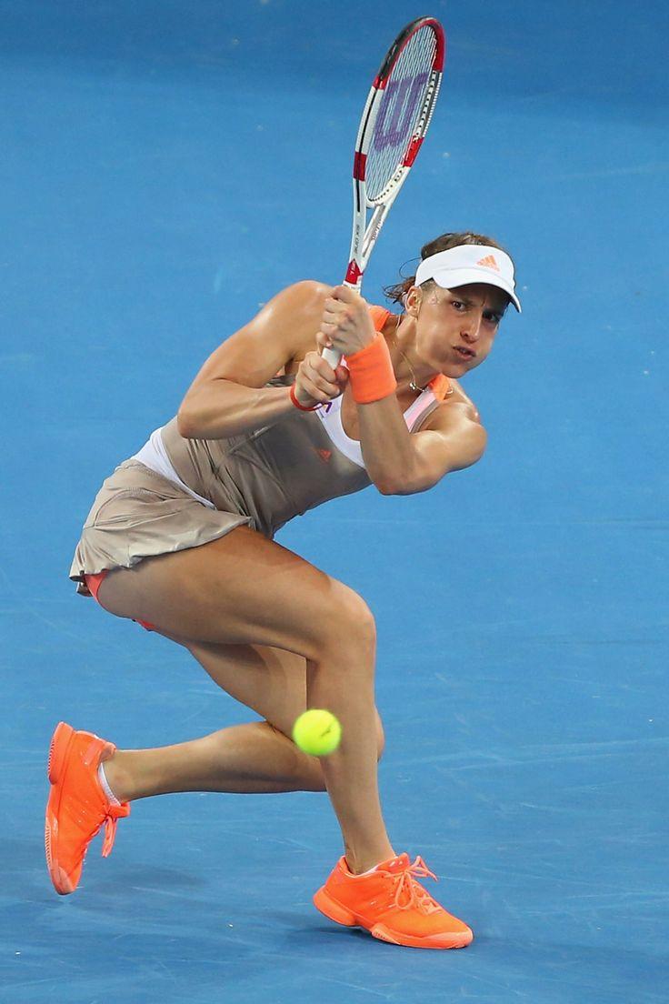 Andrea Petkovic @ Brisbane International 2014: Round 1 on December 29th 2013 #WTA #Petkovic #Brisbane