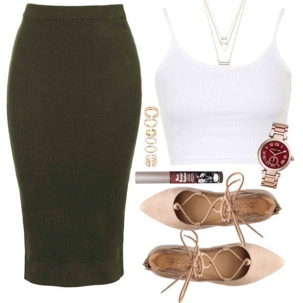 Untitled #540 by blk-typh00n on Polyvore featuring polyvore, fashion, style, Topshop, Michael Kors, Forever 21, TheBalm and clothing