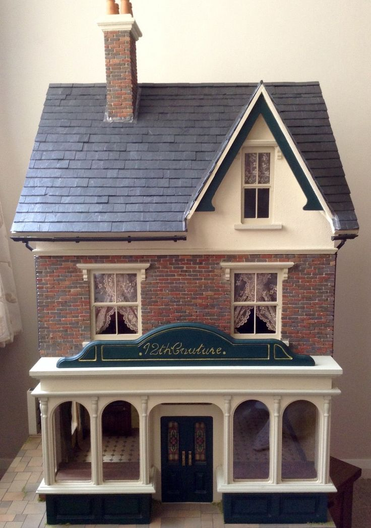 """UNIQUE Sid Cooke """" Empire Stores"""" 12th Scale Dolls House 