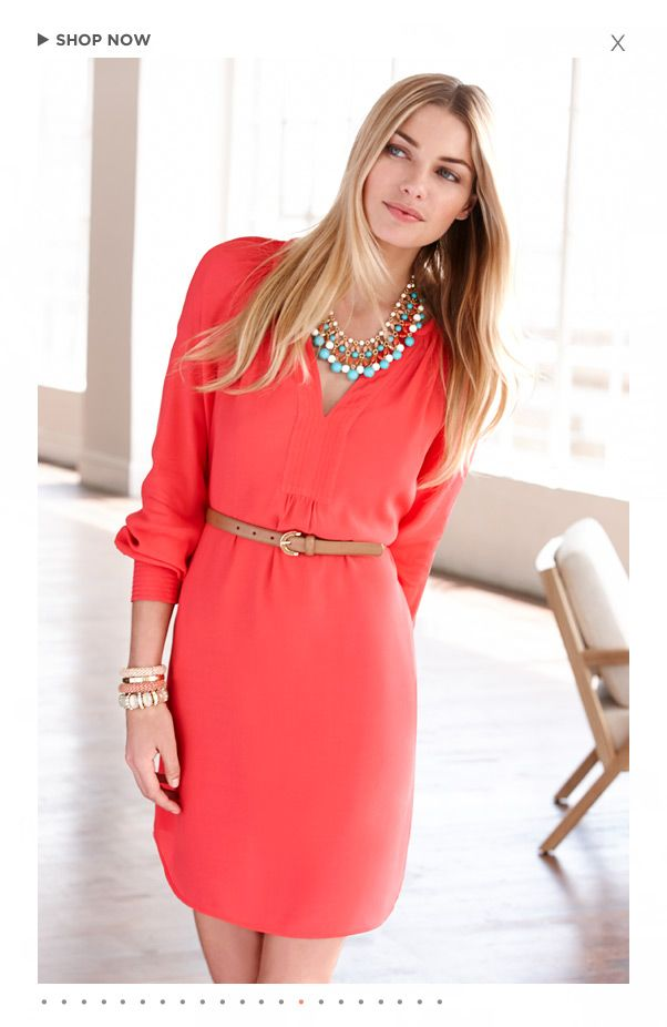 Women's Apparel: Pants, Dresses, Jeans, Sweaters, Suits, Skirts, Blouses & Jackets | Banana Republic. Love this dress!