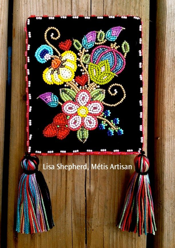 Celebrating the Art of the Flower Beadwork People Metis Art Traditional Metis people were known for the way that they covered everything from clothing to working tools to baby carriers, with beaded…
