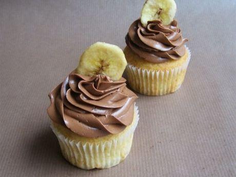 Bananencupcakes (ei, gluten, koemelkvrij) - DeLeuksteTaarten.nl