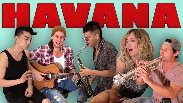Havana - Walk off the Earth (Ft. Jocelyn Alice, KRNFX, Sexy Sax Man) Cam...