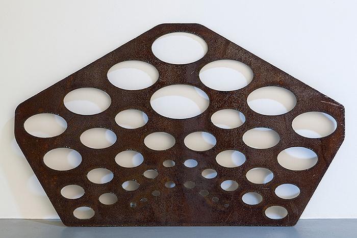 Rita McBride, Oval Rhomboid Template, 2006.: Rita Mcbride, Oval Rhomboid, Art, Rhomboid Templates, All