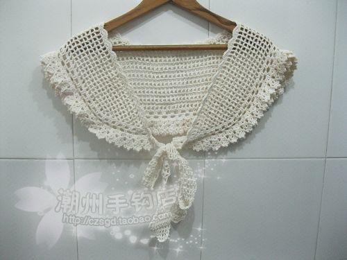 Archi exquisite crochet 100% cotton lacing cape false collar on Aliexpress.com | Alibaba Group