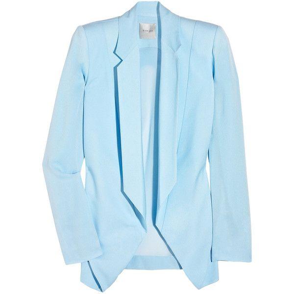 Pastel Blazer: Light Pink Blazers, Tuxedos Jackets, Deconstruction Silkcrep, Pastel Blazers, Deconstruction Silk Crep, Silk Crep Tuxedos, Lee Deconstruction, Silkcrep Tuxedos, Dion Lee Blazers