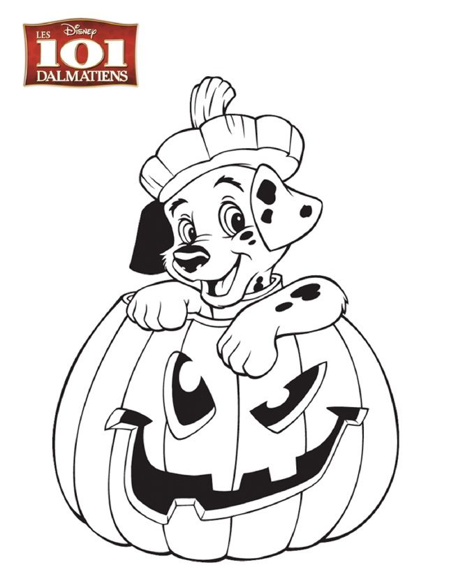 101 Dalmatians Adult Coloring - Worksheet & Coloring Pages