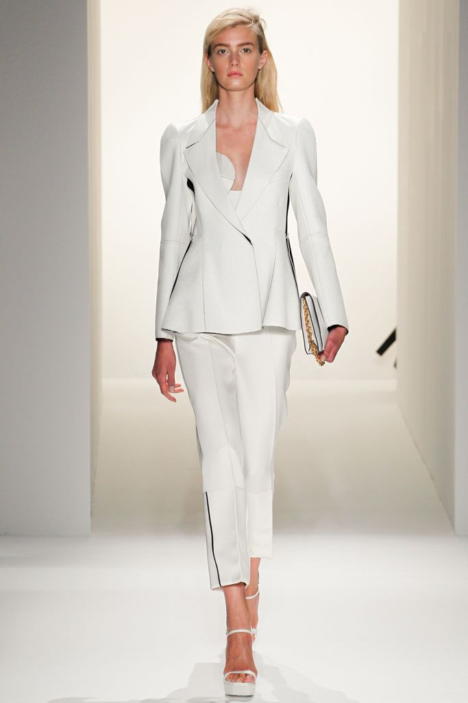 @Calvin_klein #catwalk #MBFWNY #SS_2013 #white #trends #in