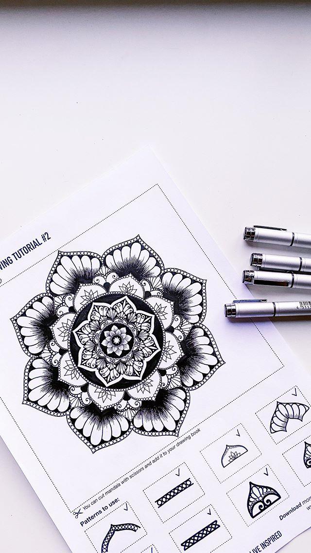 Easy Draw Senya W O W Art Instagram Photos And Videos Instagram Draw Mandala