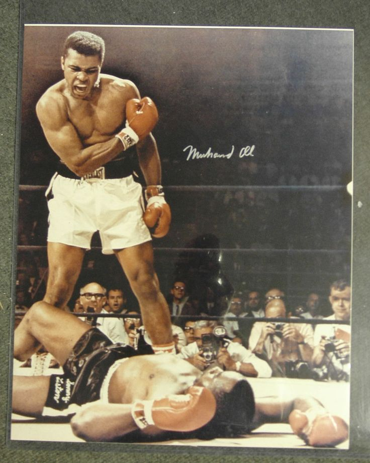 Muhammad Ali; The greatest fighter of all time!