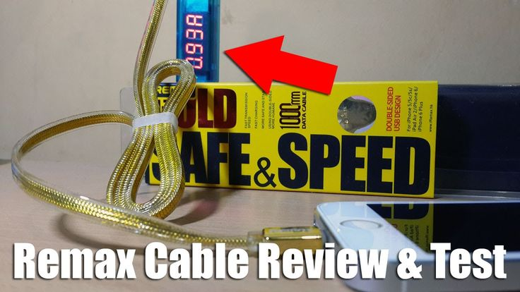 Remax Gold Cable Review & Charging Speed Test - Indonesia