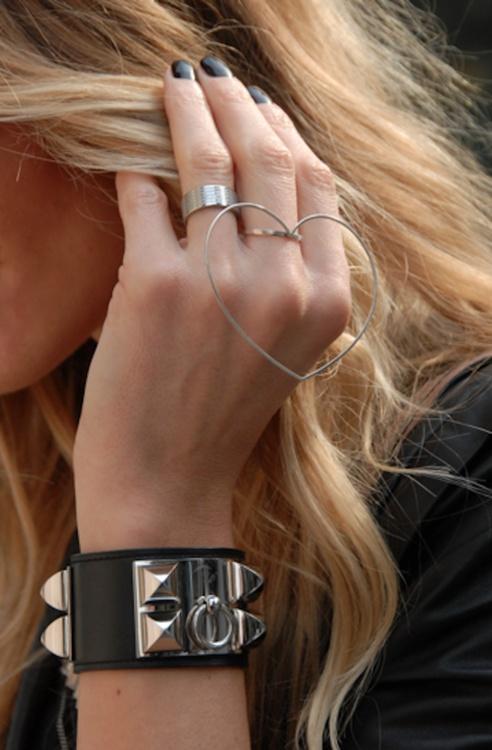 Hermes Collier de Chien cuffs.