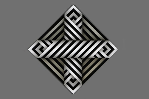 Otro diseño geometrico del maestro Omar Rayo