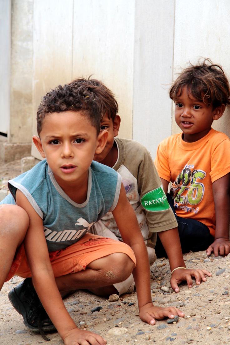 Niños en el albergue Nueva Esperanza
