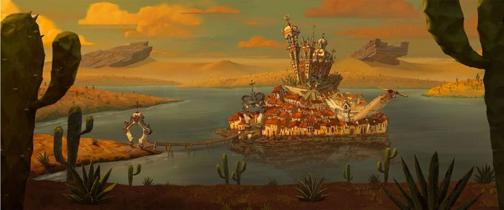 The Book of Life concept art