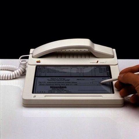 "Apple's pre-touchscreen ""iPhone""..."