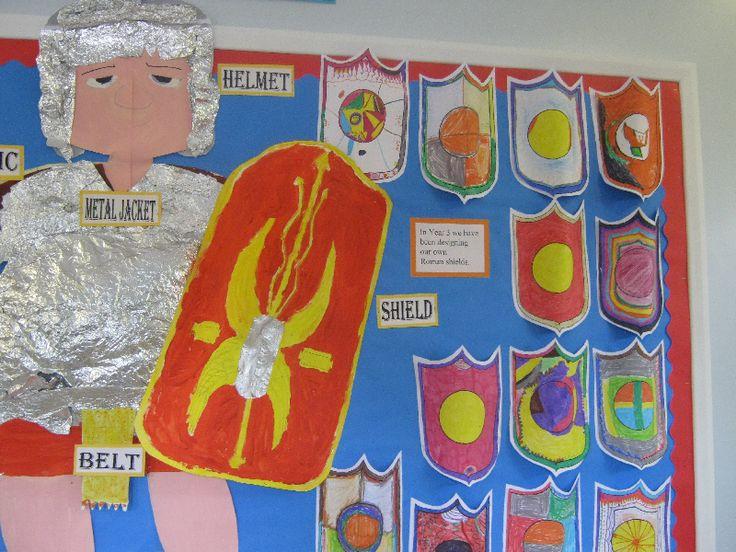 Roman shields classroom display photo - Photo gallery - SparkleBox