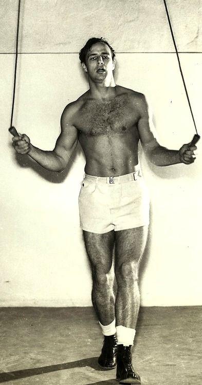 Marlon Brando - Working ouT - around 1952 - 54