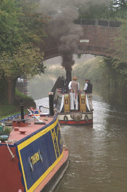 president canal boat - this is an historic steam narrowboat
