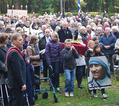 Gerardus Majella processie in Overdinkel op 18 oktober 2009