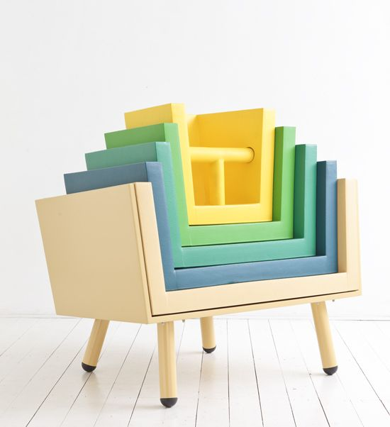 A Throne/High Chair That Grows With Your Kid. Stacking ChairsKids ...
