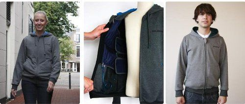 """Product review for Large Grey Squease Top, Vest & Pump.  People who like being held firmly, wearing tight clothes or lying underneath heavy blankets may like using our Squease products. The vest fits tightly around the body and can be easily adjusted using hooked-loop fasteners.       Famous Words of Inspiration...""""Politics is..."""