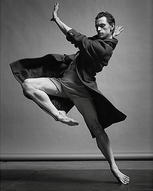 """Sergei Polunin/ """" Polunin has it in him to be heir of both stars, adding Nureyev's feral impulses to Baryshnikov's phenomenal virtuosity and clarity, while introducing a youthful masculinity of his own..."""""""