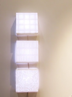 Luminaires, Luminaire paper 38 x 29 cm, Paperivalo http://www.paperivalo.fi  Photographer Taina Tervonen