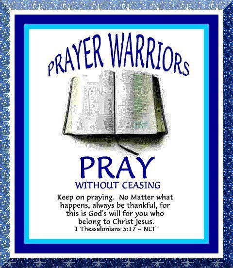 19 Best Images About Prayer Warrior On Pinterest