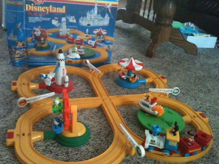 Disneyland Vintage Toy Train From The 1980 S Still Works Vintage Stuff That S
