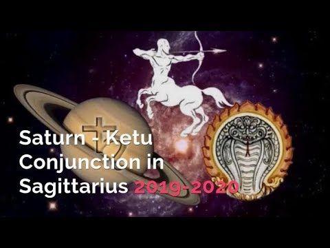 Saturn Ketu conjunction 2019 in Poorvashada Nakshatra dates