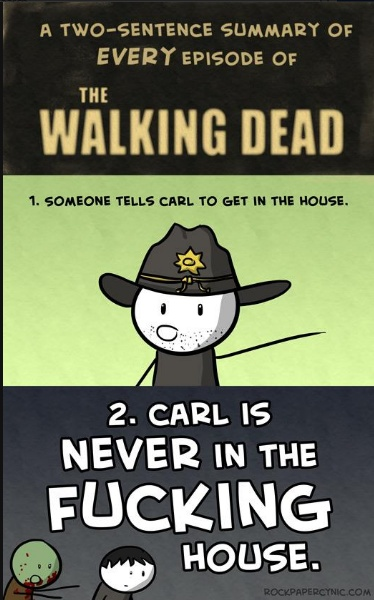 It's funny cause it's true. #WalkingDead