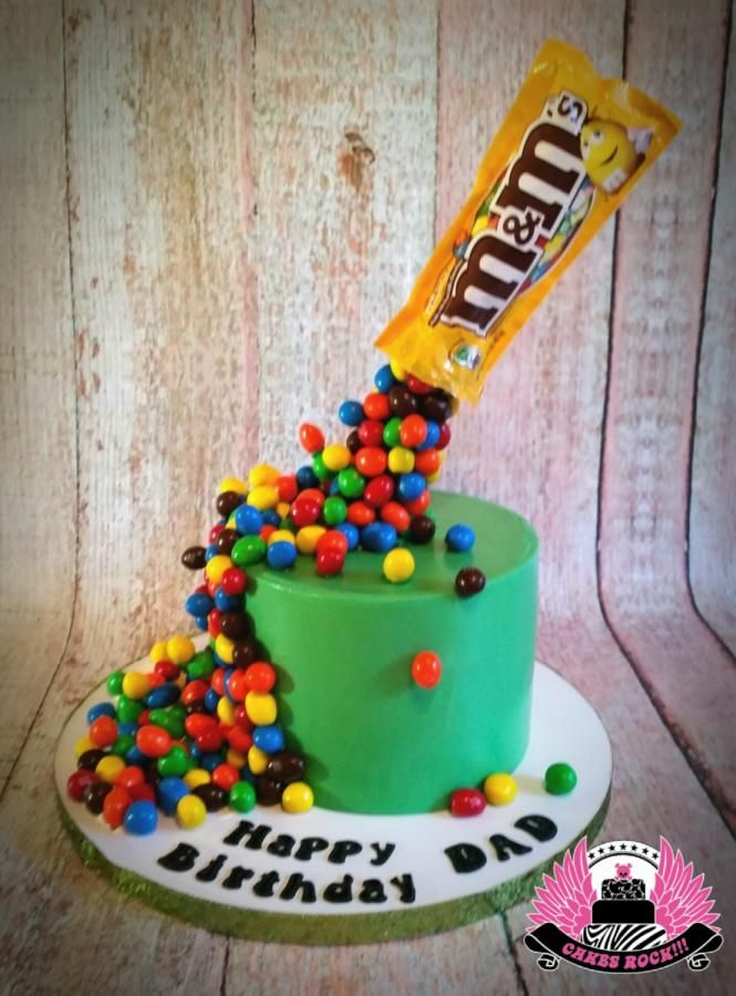 Defy A Little Bit of Gravity, M&M's cake