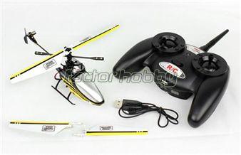 SUPER OFERTA!  Micro Helicoptero Thunder Pro 4ch 2,4 Ghz. Con batería de litio y cargador USB.