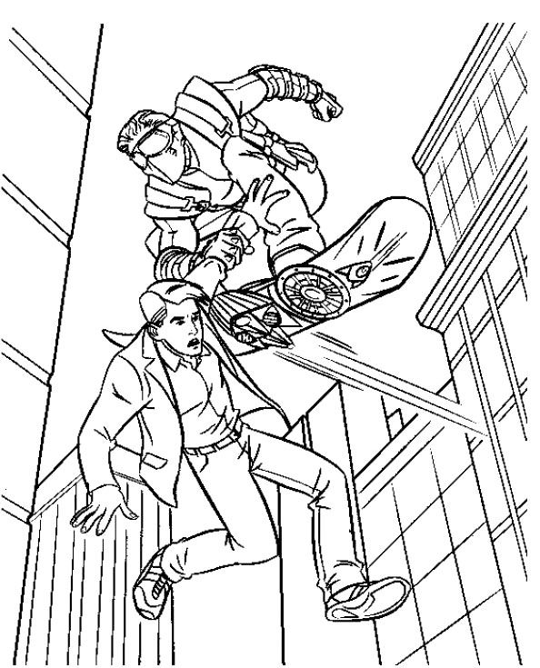 spidermand fifi coloring pages - photo#17