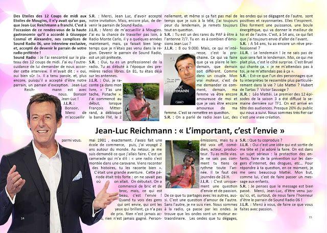 ON AIR !: On Air - Interview Jean Luc Reichmann - octobre 20...