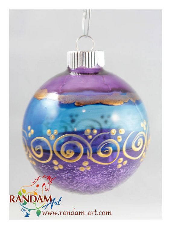 435 best christmas ornaments images on pinterest for Glass christmas ornaments to paint