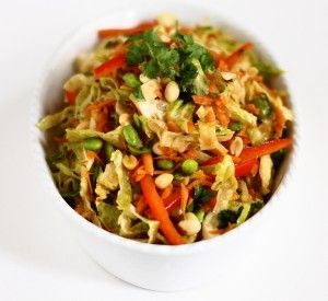 Asian Slaw with Ginger-Peanut Dressing | Main Dish Recipes - Asian ...