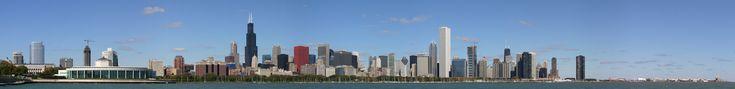 Chicago hi-res skyline